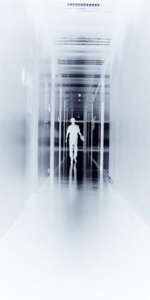 in de wandelgang Ufo UGent foto Benn Deceuninck